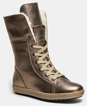 Высокие ботинки женские CLAIRE