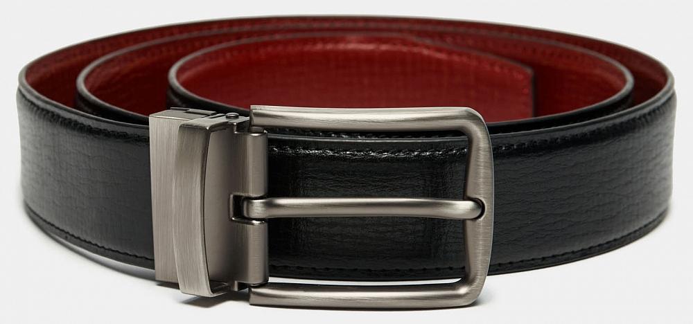 Ремень Ralf Ringer MLJP3575-01/10 Черный дятел tucano мужские первый слой кожи автоматическая пряжка ремня бизнес случайный молодежь корейский брюки пояса wde7391a 89b0 черный