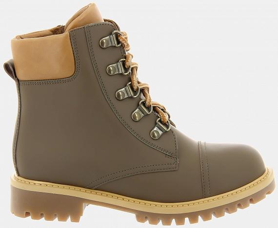 Ботинки  ASPEN-D (цвет коричневый, натуральная кожа)