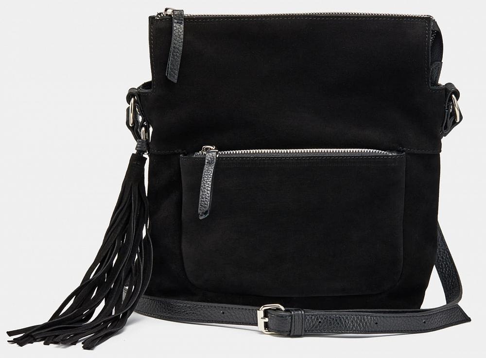 сумка шоппер женская медведково цвет темно синий 16с3492 к14 Сумка Ralf Ringer 19с0908-к14 Черный