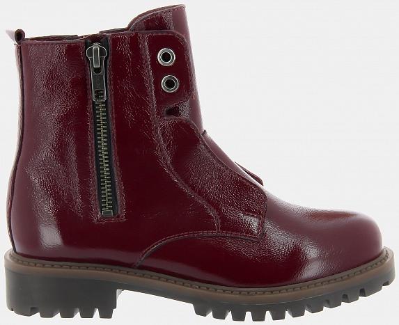 Ботинки ASPEN-D (цвет бордовый, наплак)
