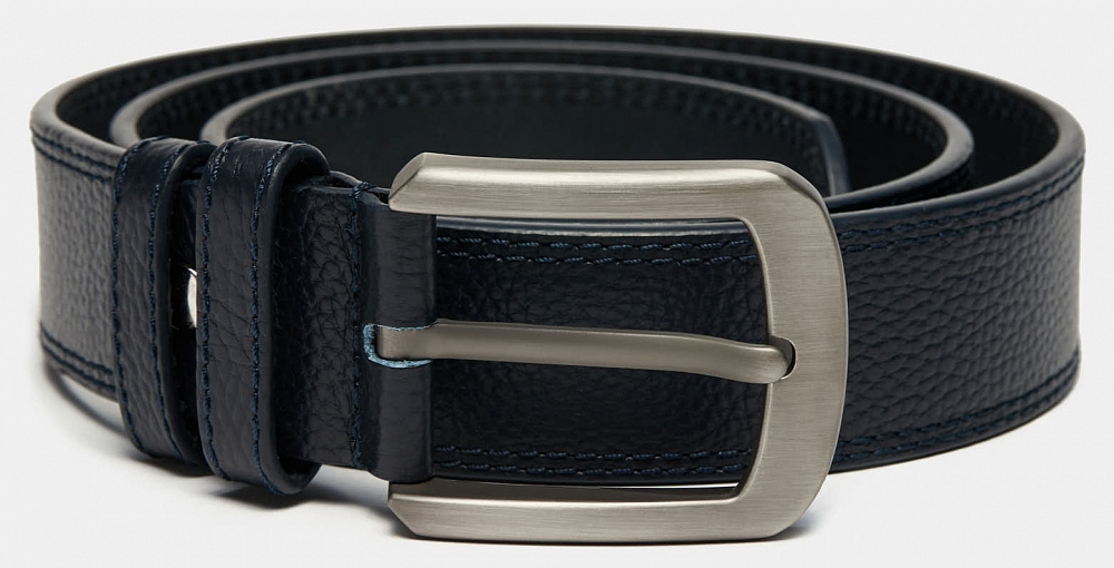 Ремень Ralf Ringer MLJP4086-04 Синий дятел tucano мужские первый слой кожи автоматическая пряжка ремня бизнес случайный молодежь корейский брюки пояса wde7391a 89b0 черный