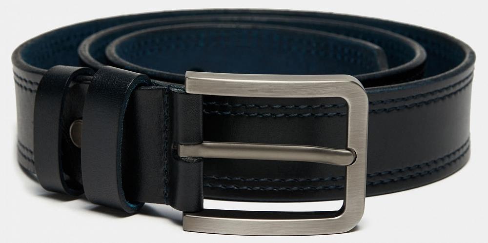 Ремень Ralf Ringer MLSP4047-04 Синий дятел tucano мужские первый слой кожи автоматическая пряжка ремня бизнес случайный молодежь корейский брюки пояса wde7391a 89b0 черный