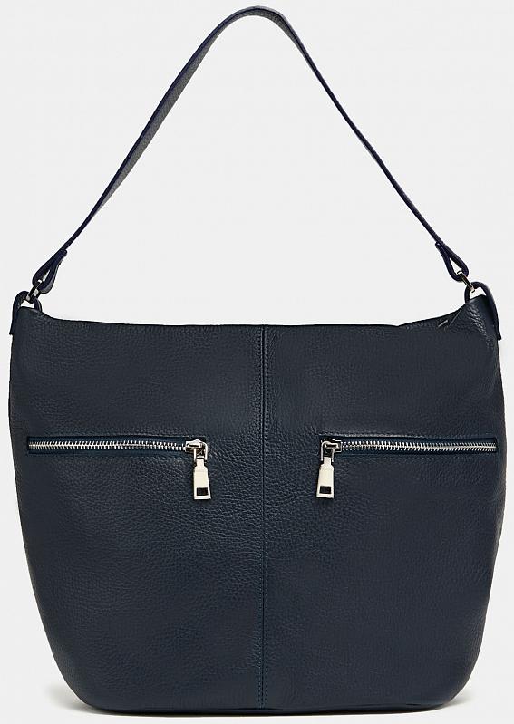 сумка шоппер женская медведково цвет темно синий 16с3492 к14 Сумка Ralf Ringer 19с1359-к14 Синий